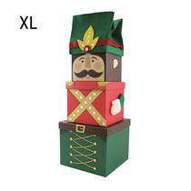 Nutcracker Christmas XL Plush Gift Box 3pce