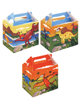 Dinosaur party lunch box