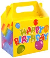 Happy Birthday Party Lunch Box