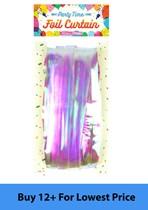 Iridescent Foil Door Curtain 92cm x 2.4M