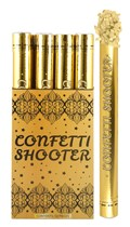 Gold Paper Confetti Shooter 50cm