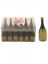 Wedding Champagne Bottle Bubbles 24pk - Green