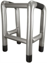 Inflatable Blow Up Walking Zimmer Frame
