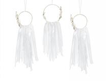 Dreamcatcher Hoops White Wedding Decoration 3pce