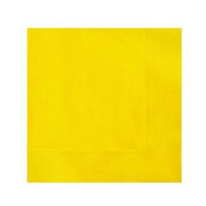 Yellow Beverage Napkins - 20pk