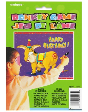 Pin The Tail On The Donkey Game