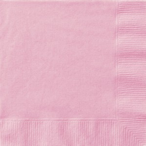 Light Pink Luncheon Napkins - 20pk