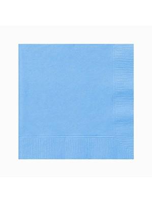 Light Blue Beverage Napkins - 20pk