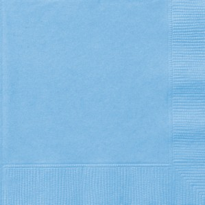 Light Blue Luncheon Napkins - 20pk