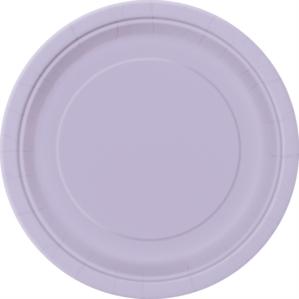 "Lavender 9"" Round Paper Plates 8pk"