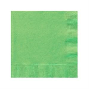 Lime Green Beverage Napkins - 20pk