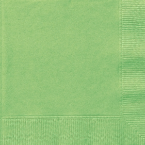 Lime Green Luncheon Napkins - 20pk