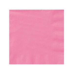 Hot Pink Beverage Napkins - 20pk
