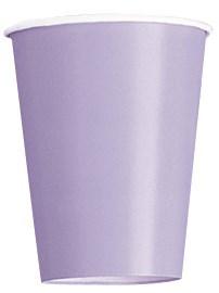 Value Pack Lavender 9oz Paper Cups 14pk