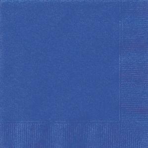 Royal Blue Luncheon Napkins - 20pk