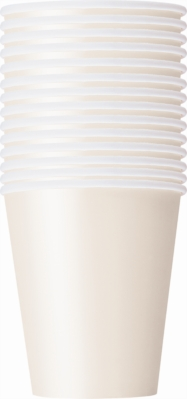 Value Pack Ivory 9oz Paper Cups 14pk