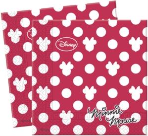 20 Minnie Fashion Paper Napkins