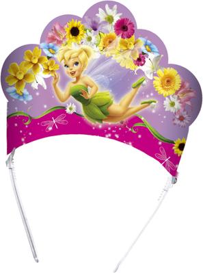 6 Springtime Fairies Tiaras