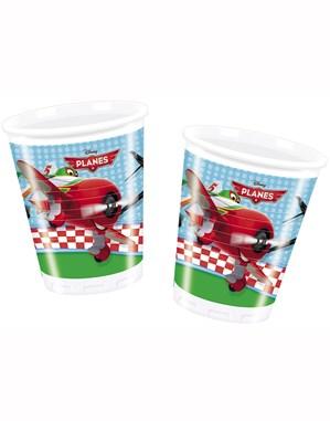 8 Planes Plastic Cups