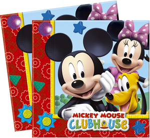 20 Mickey Mouse Clubhouse Paper Napkins