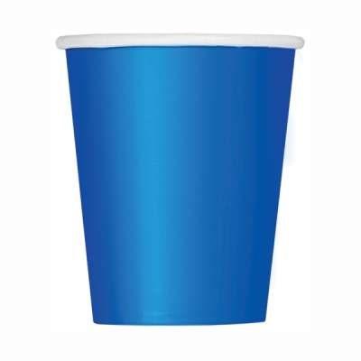 Value Pack Royal Blue 9oz Paper Cups 14pk